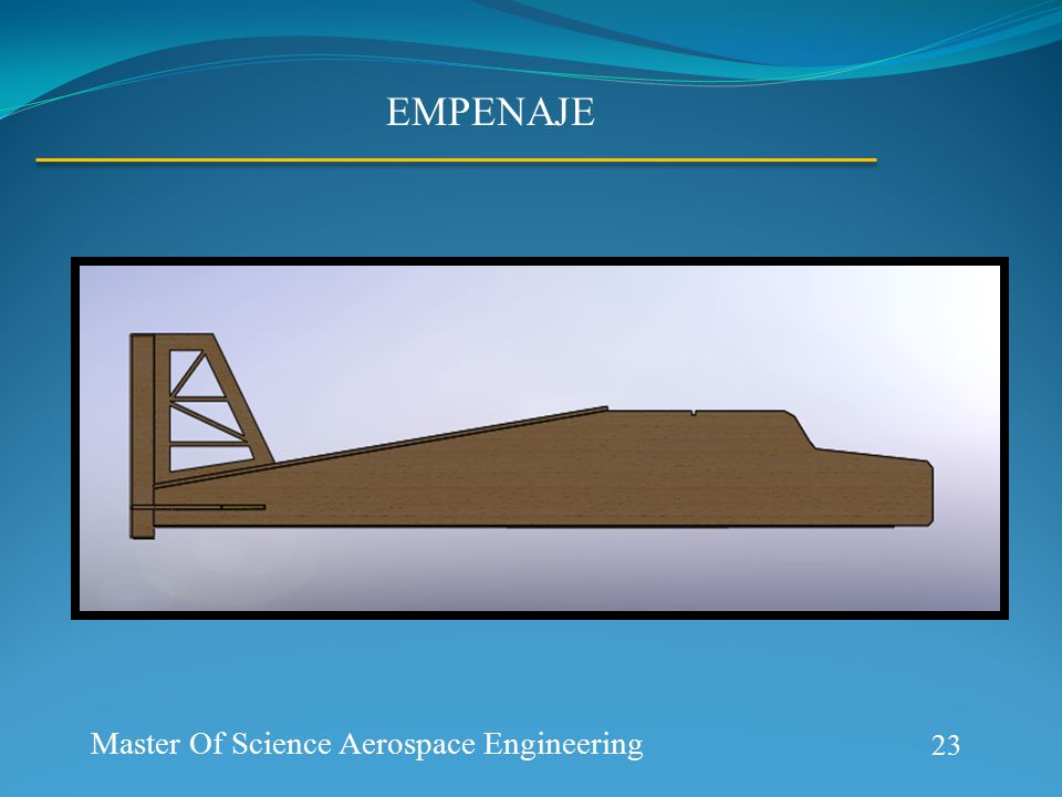 Aerospace Prototype Generation 23 Master Of Science Aerospace Engineering EMPENAJE