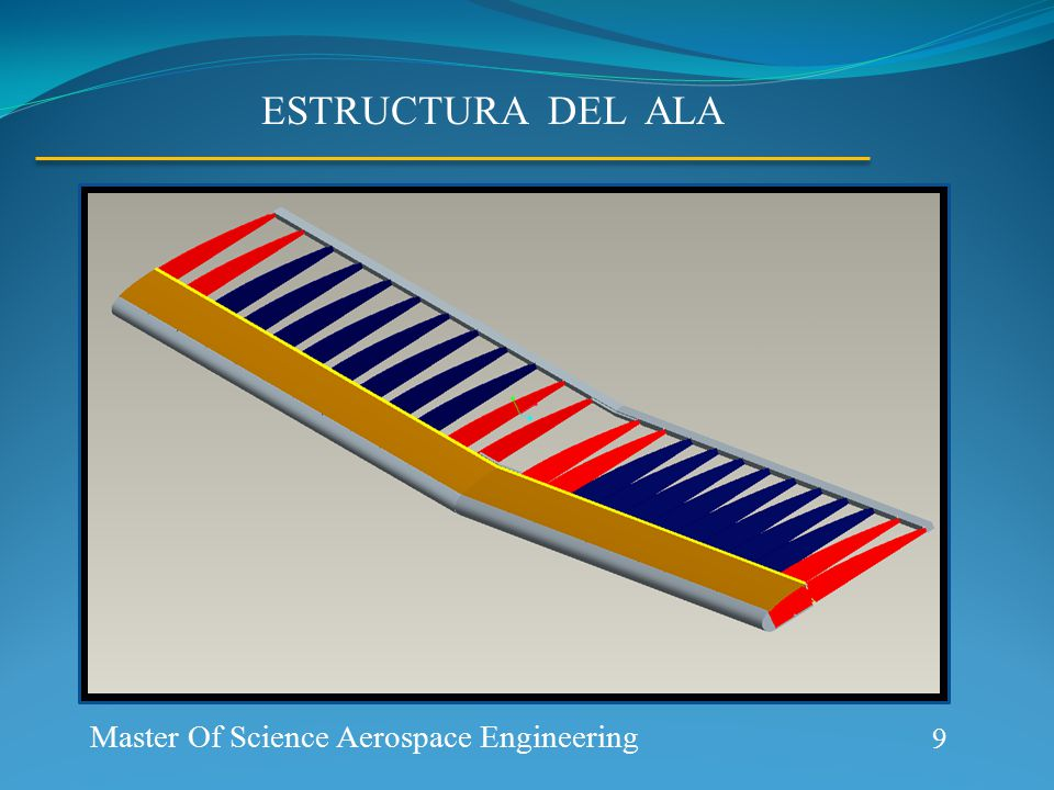 Aerospace Prototype Generation ESTRUCTURA DEL ALA 9 Master Of Science Aerospace Engineering