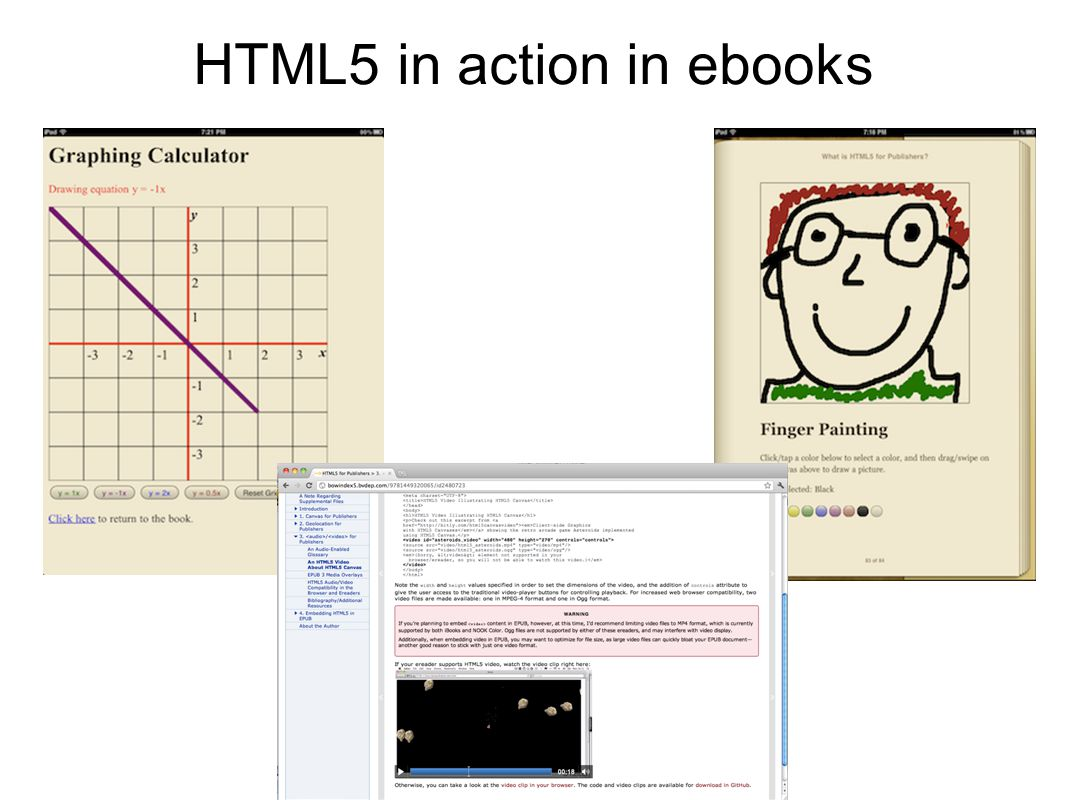 HTML5 in action in ebooks
