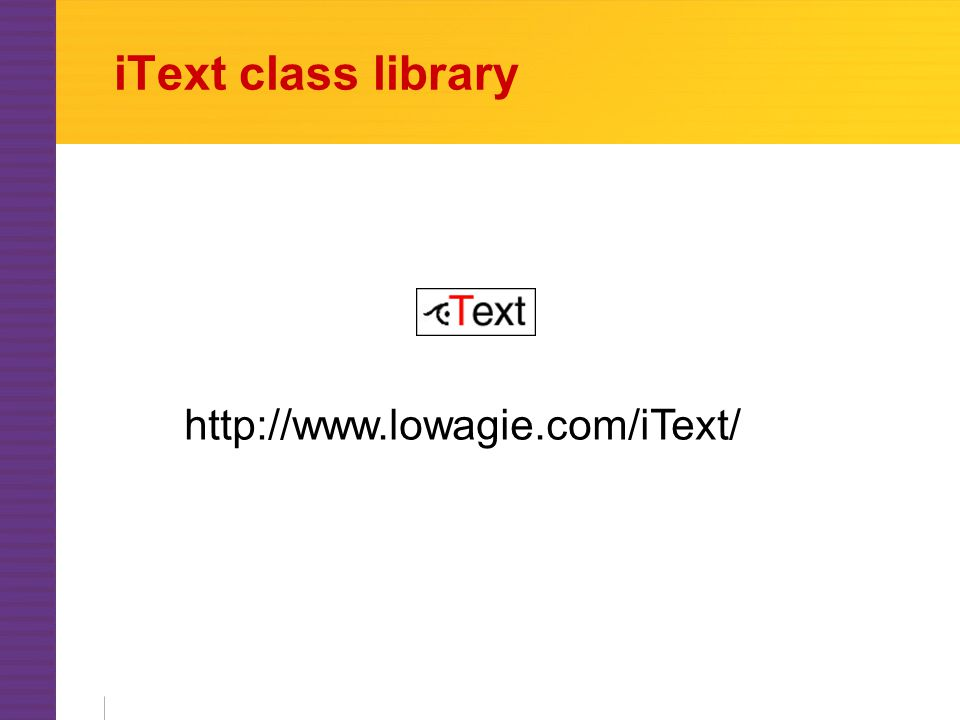 iText class library http://www.lowagie.com/iText/