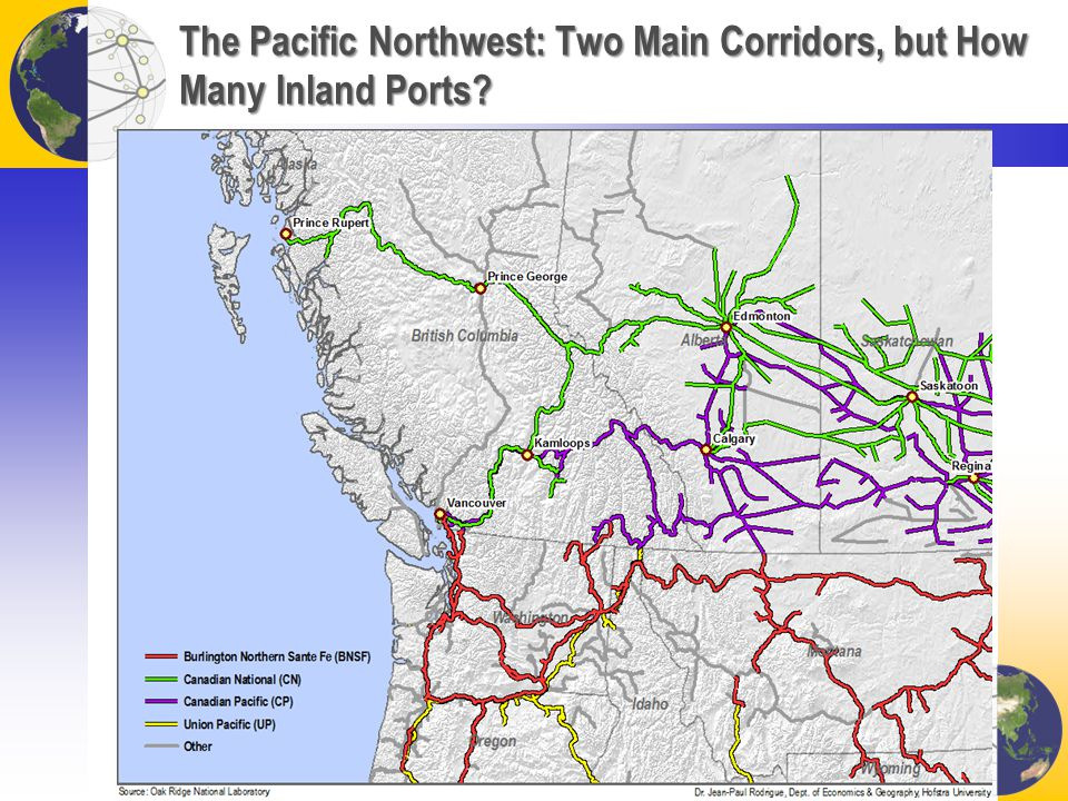 The Pacific Northwest: Two Main Corridors, but How Many Inland Ports?