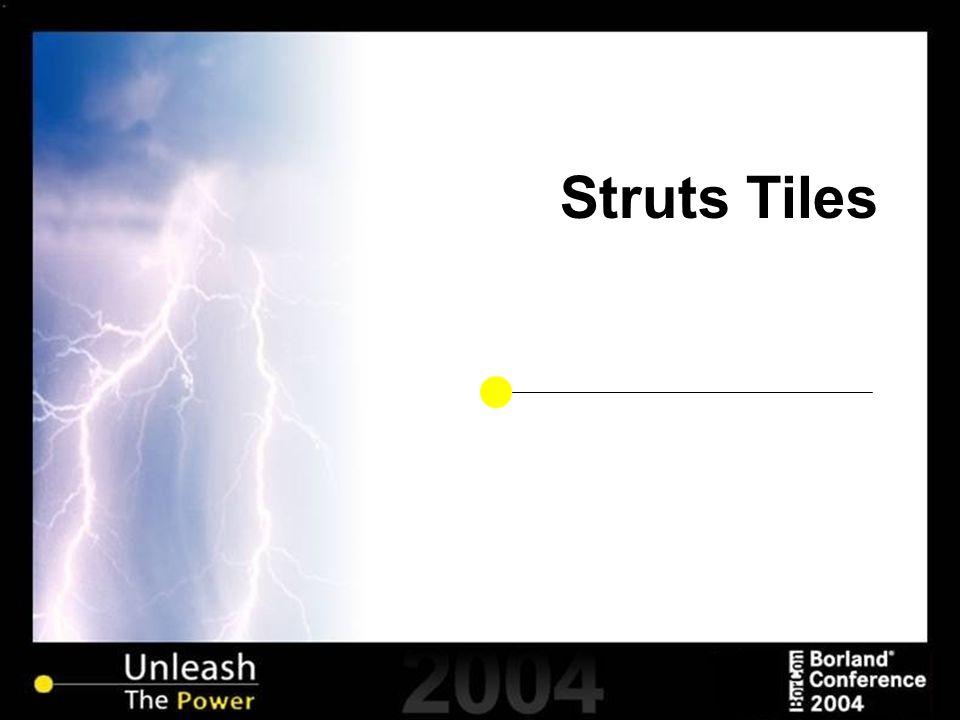Struts Tiles