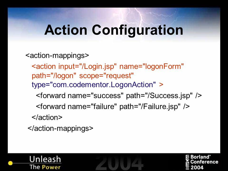 Action Configuration