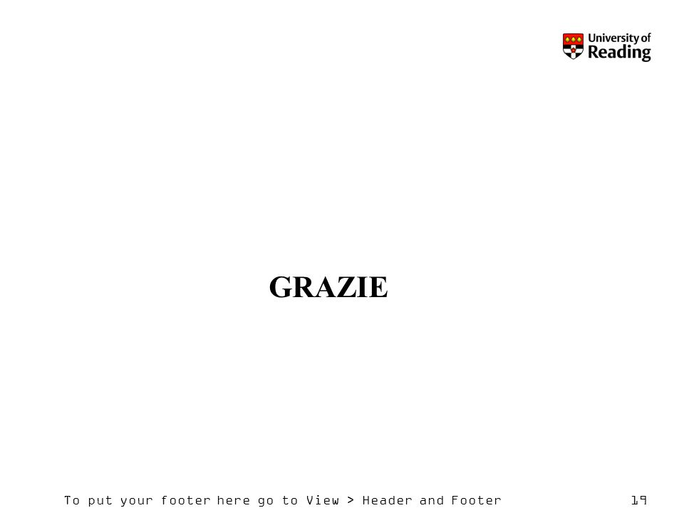 To put your footer here go to View > Header and Footer19 GRAZIE