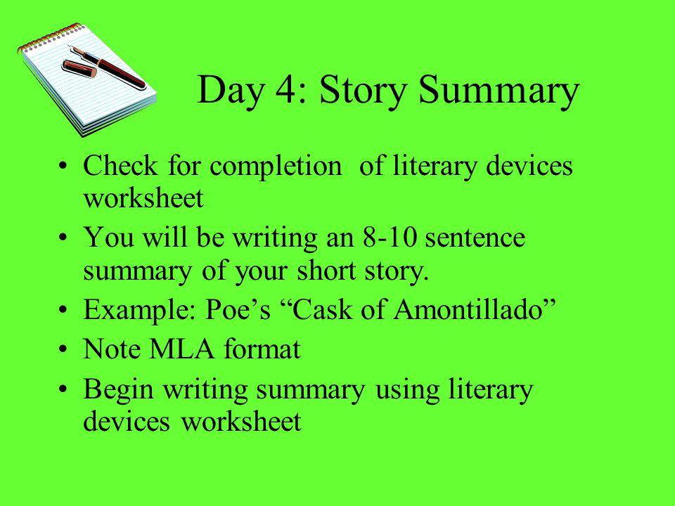 Grammar Check - Short Story Response?