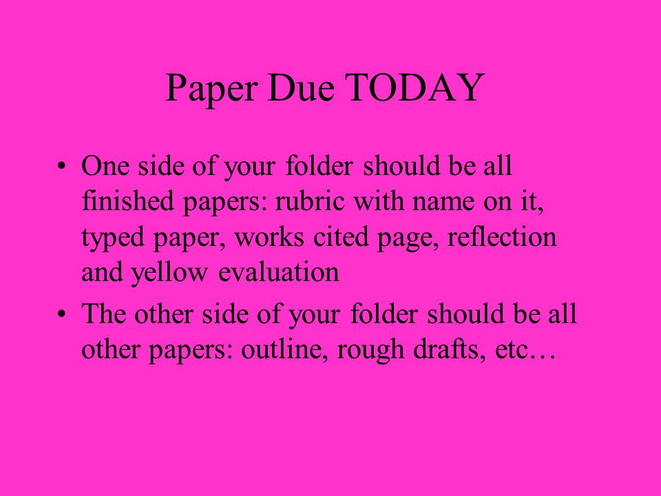 ENGLISH TERM PAPER DUE TOMORROW! HELP ME WITH IN TEXT CITATION PLEASE!?