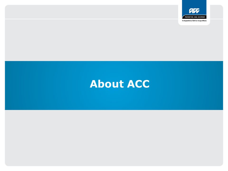About ACC