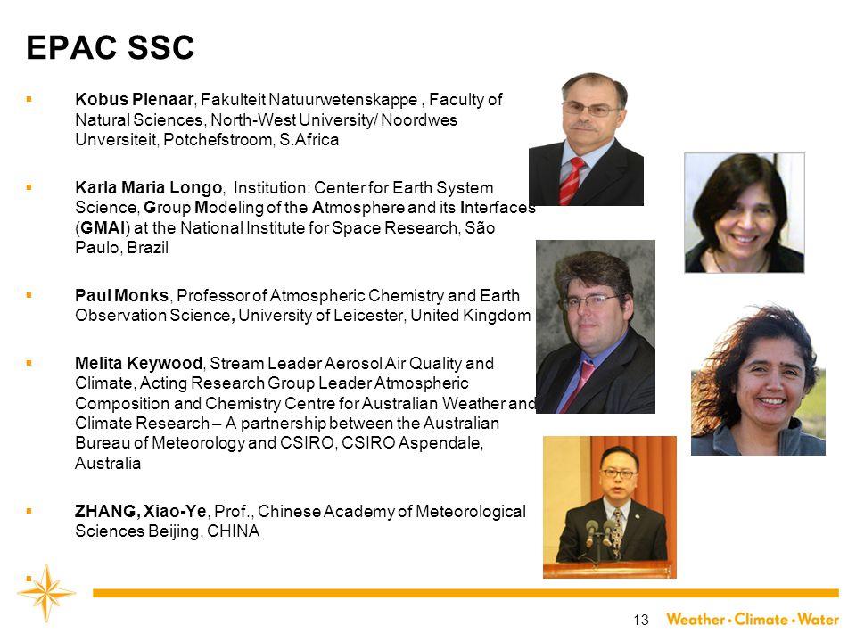 EPAC SSC  Kobus Pienaar, Fakulteit Natuurwetenskappe, Faculty of Natural Sciences, North-West University/ Noordwes Unversiteit, Potchefstroom, S.Afri