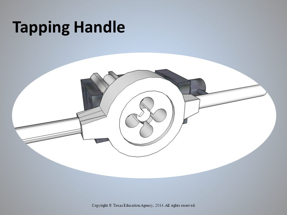 Tapping Handle Copyright © Texas Education Agency, 2014. All rights reserved.