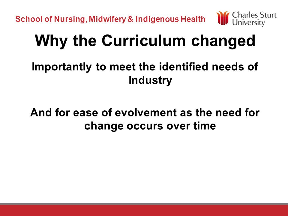 DO NOT PLACE ANY TEXT OR GRAPHICS ABOVE THE GUIDELINE SHOWN DO NOT PLACE ANY TEXT OR GRAPHICS BELOW THE GUIDELINE SHOWN TO EDIT GRAPHICS IN THE MASTER SELECT: VIEW > SLIDE MASTER TO APPLY PAGE STYLES RIGHT CLICK YOUR PAGE >LAYOUT School of Nursing, Midwifery & Indigenous Health TO EDIT THE FOOTER IN THE MASTER SELECT: VIEW > SLIDE MASTER School of Nursing, Midwifery & Indigenous Health National Practice Standards https://www.health.gov.au/internet/main/publishing.nsf/Content/5D79 09E82304E6D2CA257C430004E877/$File/wkstd13.pdf