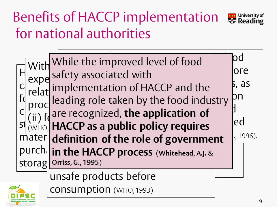 Insert footer on Slide Master In the implementation of HACCP, these can be summarized as: 1.