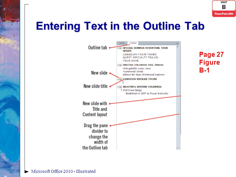 Editing and Duplicating Shapes With PowerPoint, you have the ability to refine the aspects of a shapeWith PowerPoint, you have the ability to refine the aspects of a shape You use the adjustment handle—a small yellow diamond—to change the appearance of an objectYou use the adjustment handle—a small yellow diamond—to change the appearance of an object Microsoft Office 2010-Illustrated