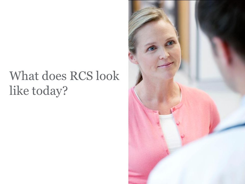 What does RCS look like today? FPO