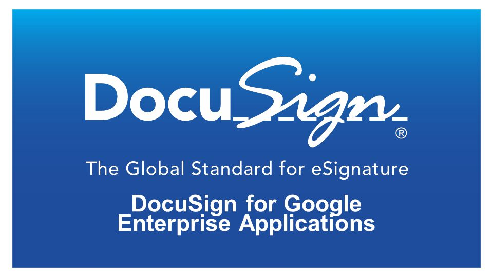 Configure Account When first installing DocuSign, the administrator will have the ability to setup a new account or associate an existing one.