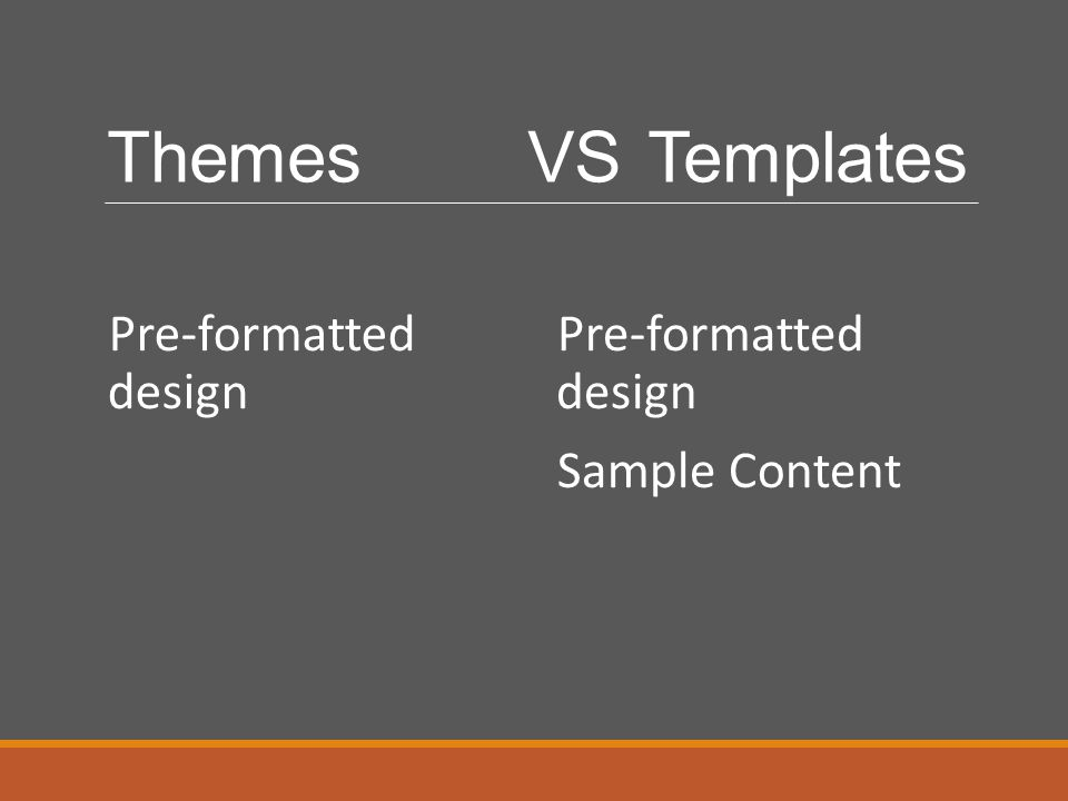 ThemesVSTemplates Pre-formatted design Sample Content