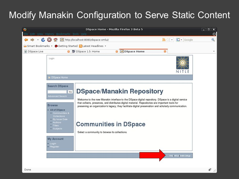 Modify Manakin Configuration to Serve Static Content