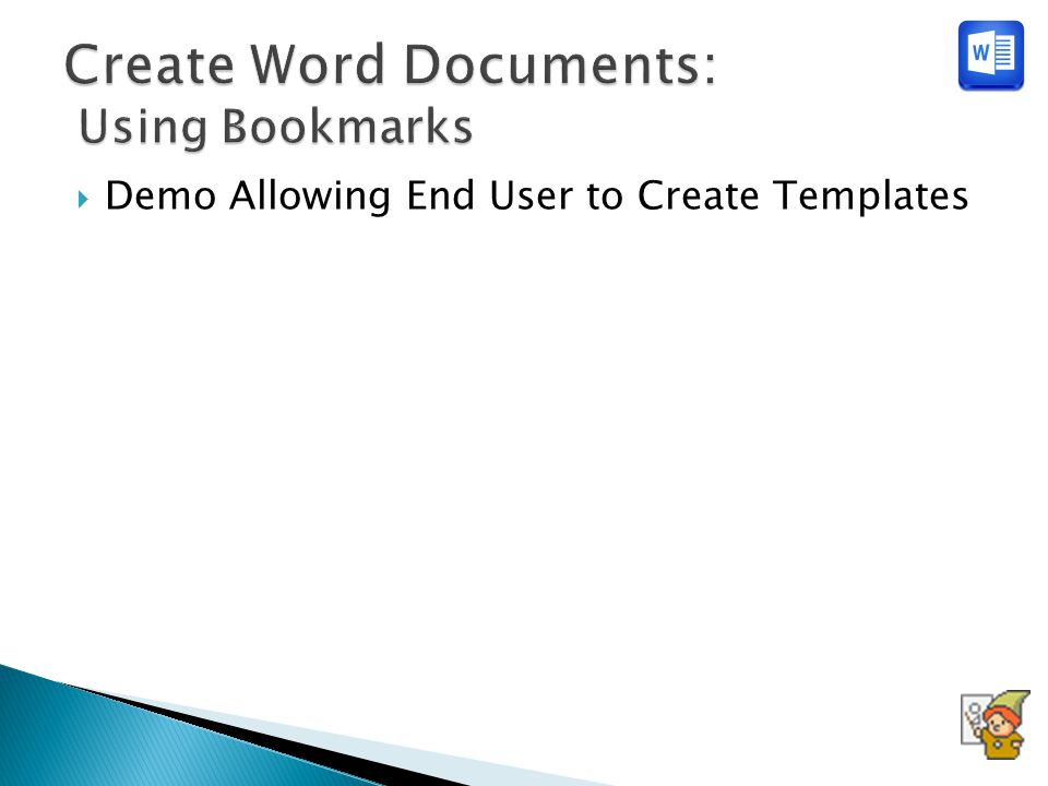  Demo Allowing End User to Create Templates