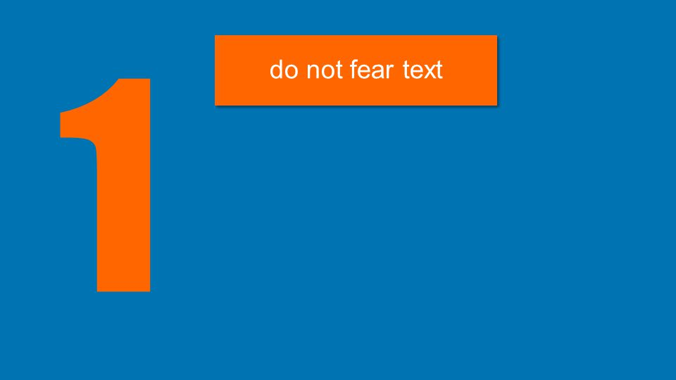 1 do not fear text
