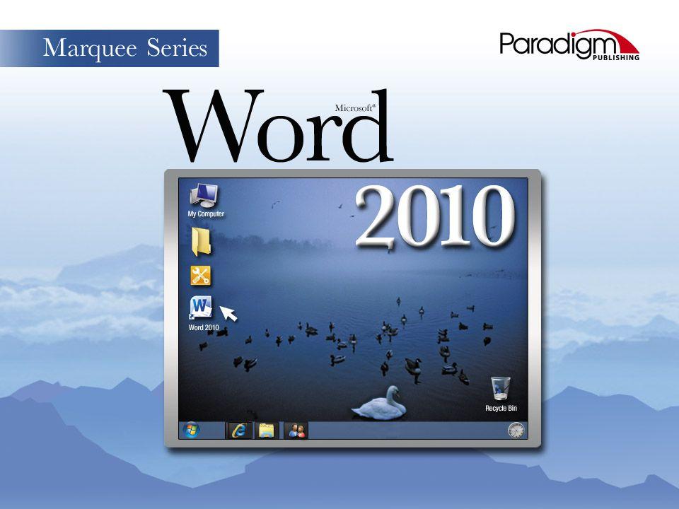 Skills © Paradigm Publishing, Inc. 1