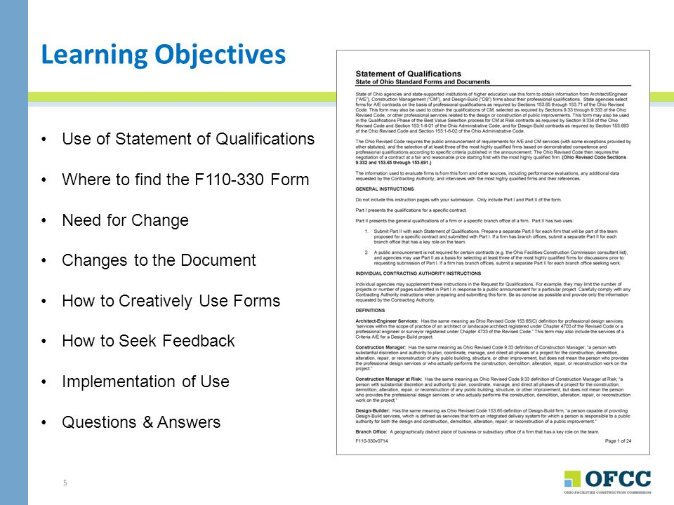 16 SOQ Part I, Section E: Relevant Projects Describe Relevant Projects Example for Other Services