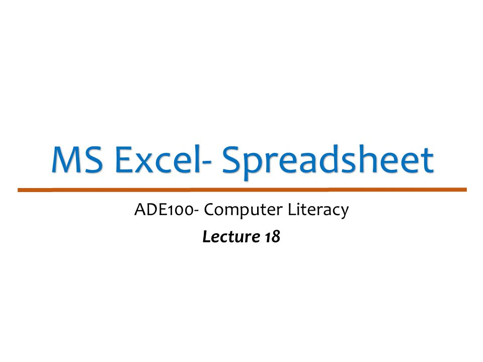 Knowledge test What is the concept of formula.What is function in spreadsheet.