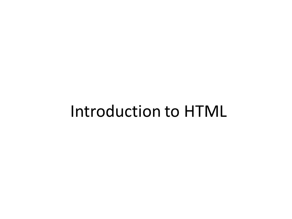 What is HTML Hypertext Markup Language, a standardized system for tagging text files to achieve font, color, graphic, and hyperlink effects on World Wide Web pages ----- HTML is a language for creating web sites.