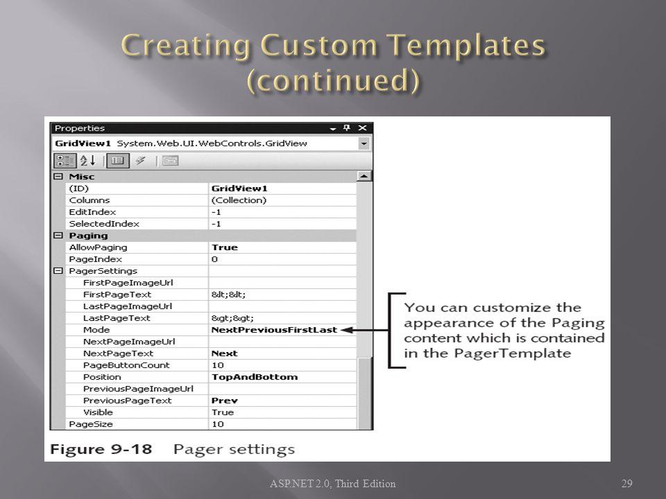 ASP.NET 2.0, Third Edition29