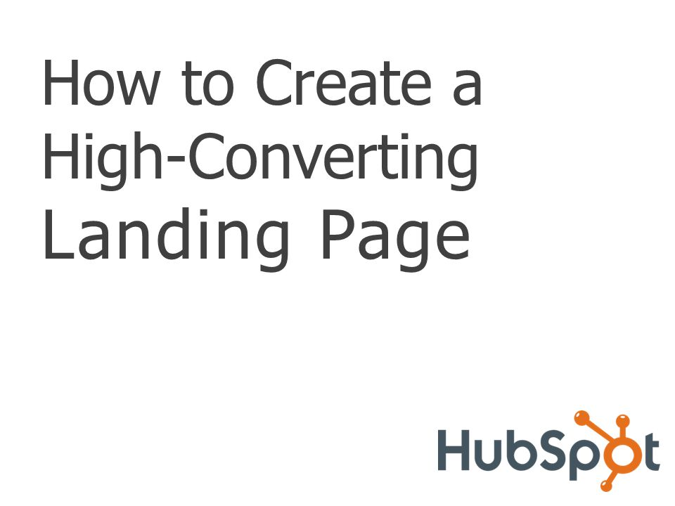 TABLE OF CONTENTS Introduction About Landing Pages ……………………………………….
