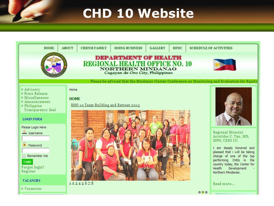www.themegallery.com CHD 10 Website