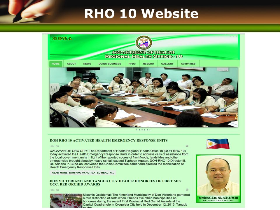 www.themegallery.com RHO 10 Website