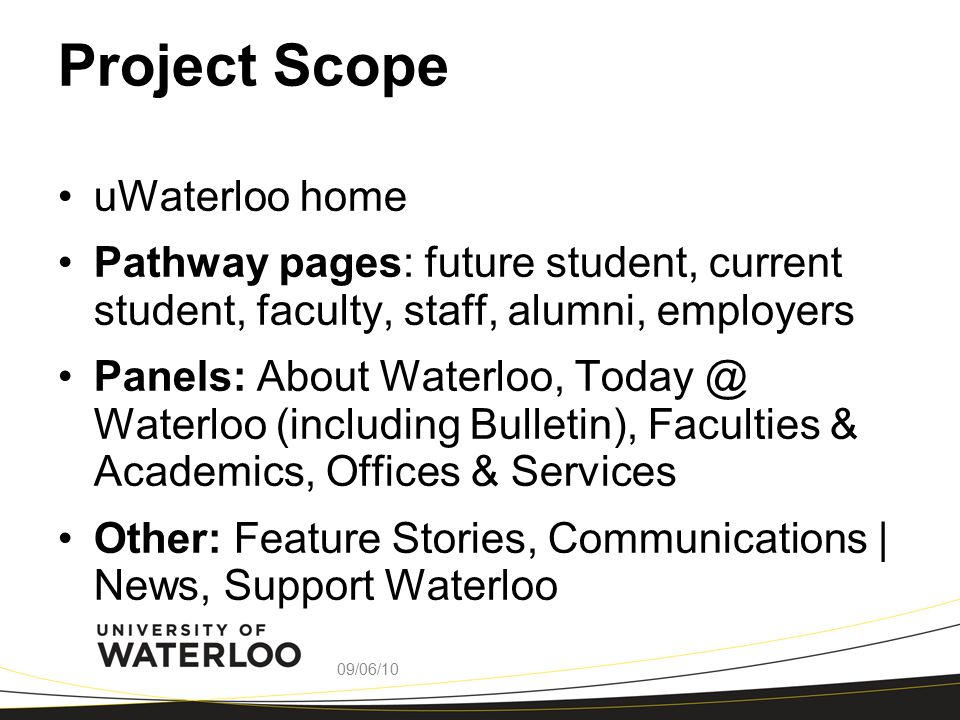 ABOUT WATERLOO