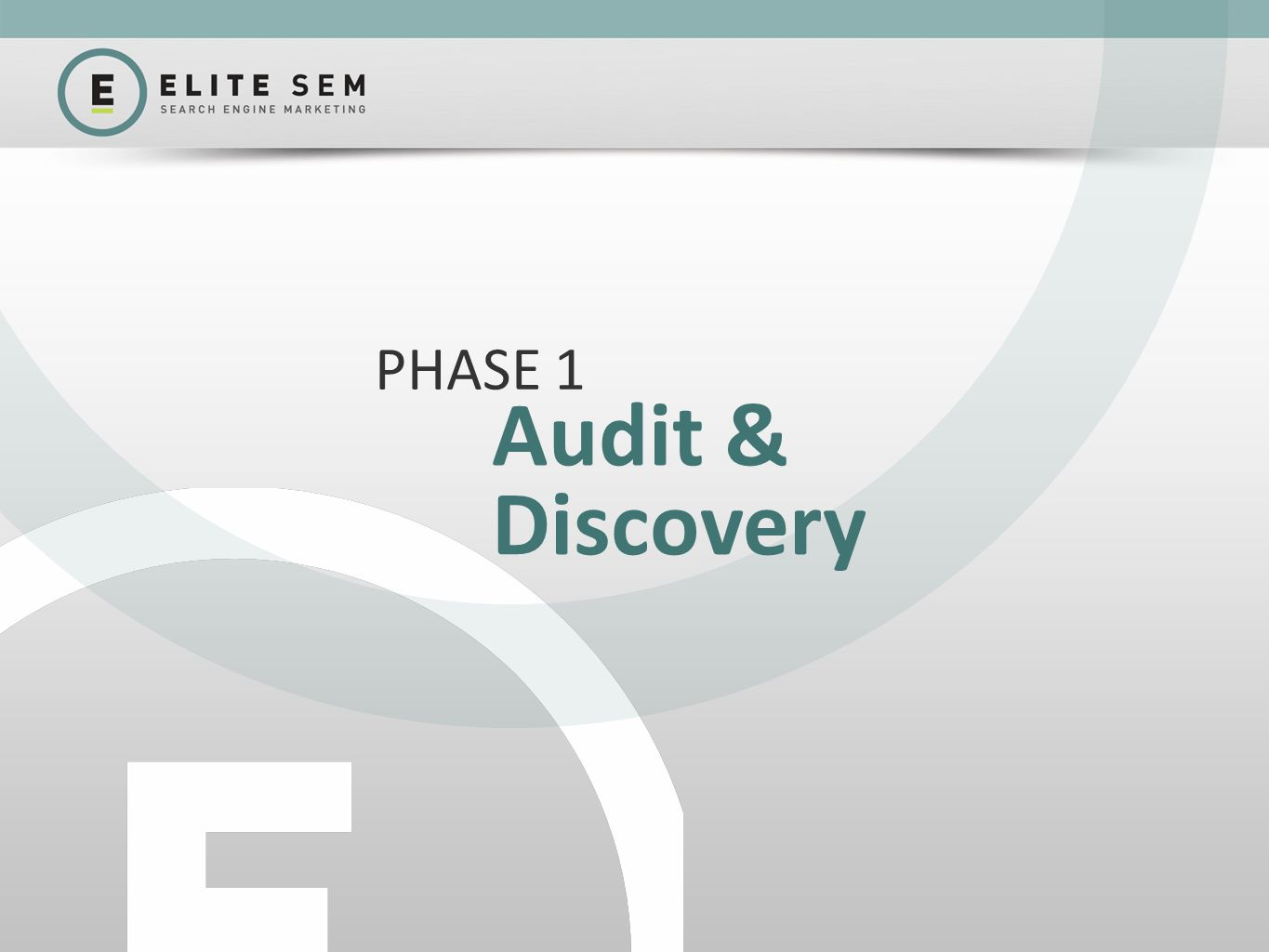 Audit & Discovery PHASE 1