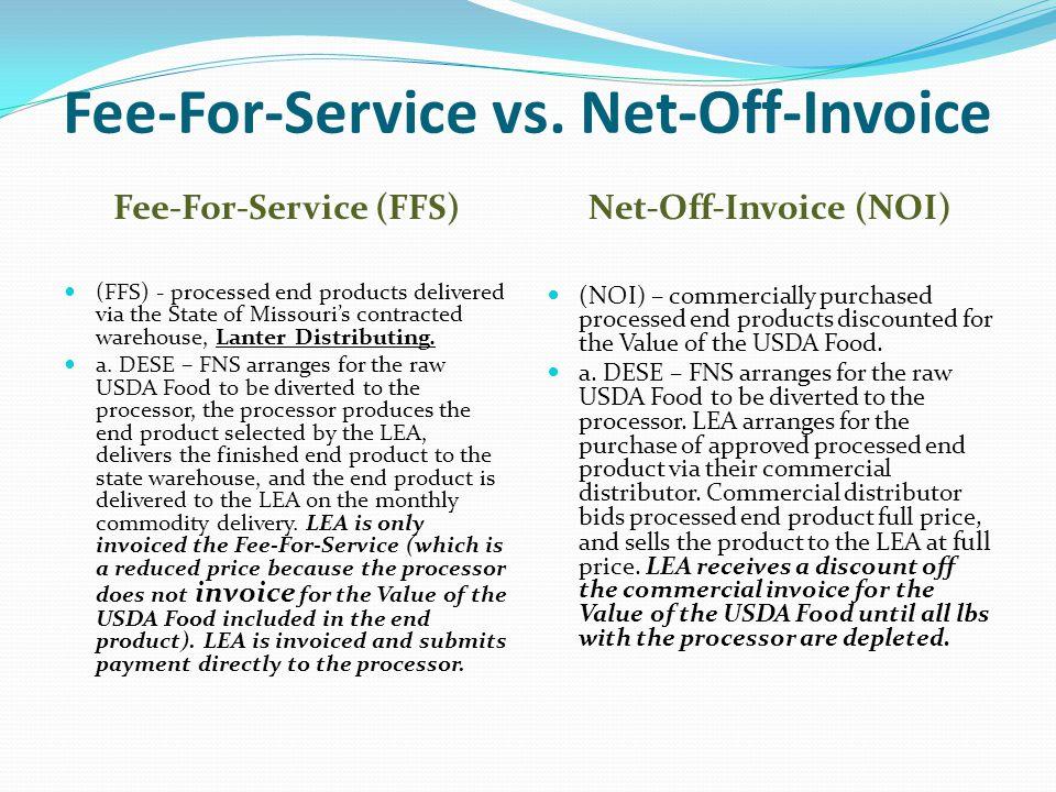 Fee-For-Service vs.