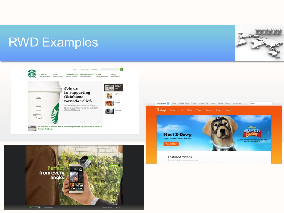 RWD Examples