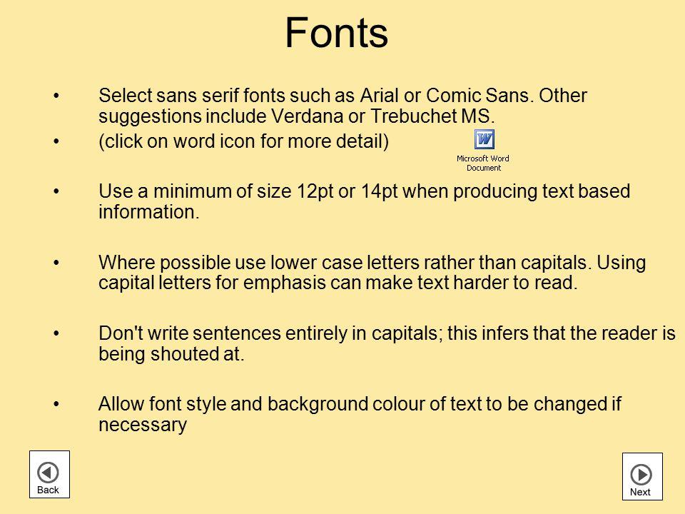 Presentation Style and Readability Keep sentences short; make average sentence length 15 to 20 words.