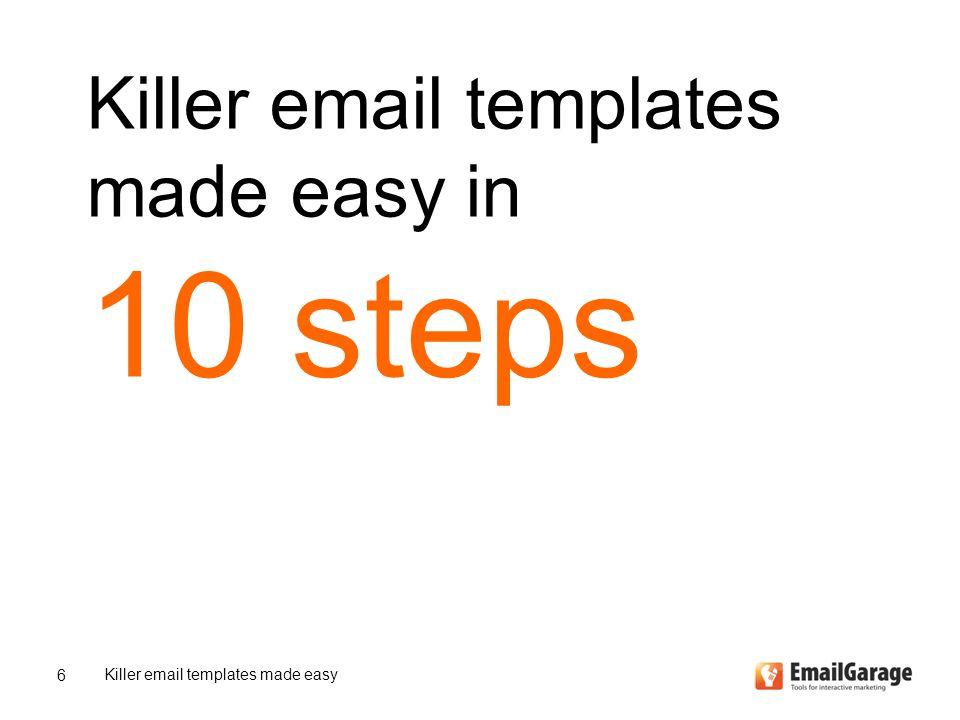 Case – Cine 24 horas Killer email templates made easy 27 We deliver your download