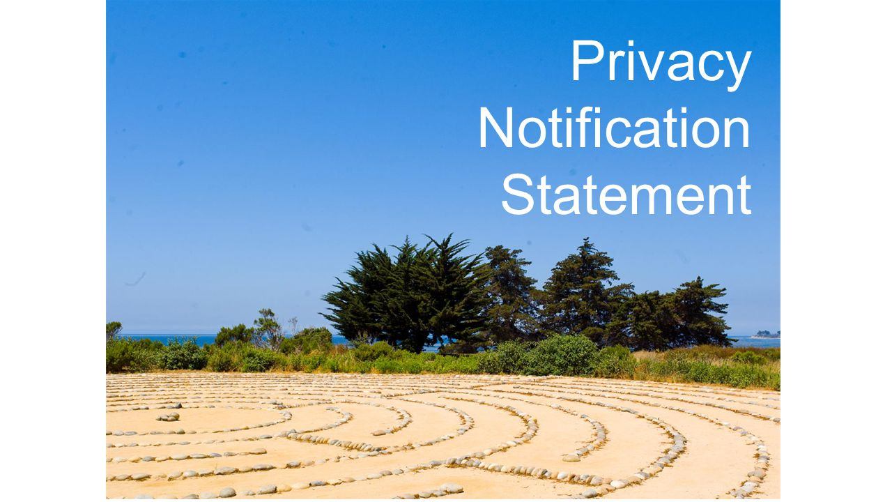 Privacy Notification Statement