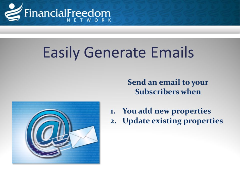 Text Visit My Websites & Content Real Estate Tools Click on Manage Property Listings Access Your Property Listings Area