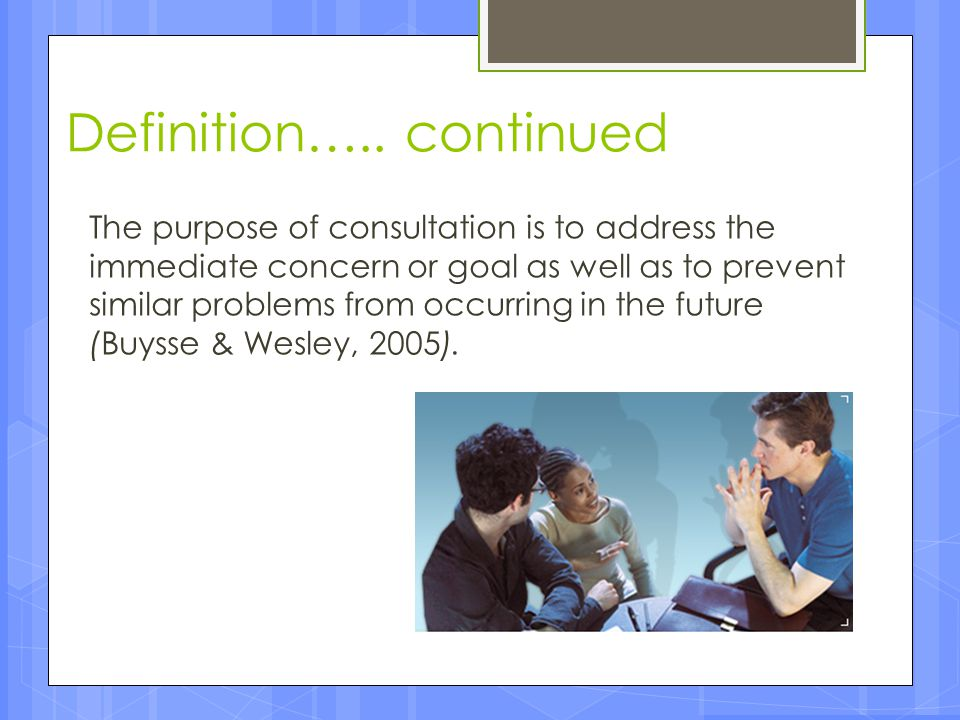 Components of Effective IECSE Consultation Service Model Monitoring of Child Progress Analysis of Learning Environment Feedback/Partner Progress Prioritizing Child IEP Objectives Transfer of Knowledge, Skills, Attitudes & Values Administrative Support Interpersonal Communication Skills Communication with Families Self-Advocacy & Professional Development
