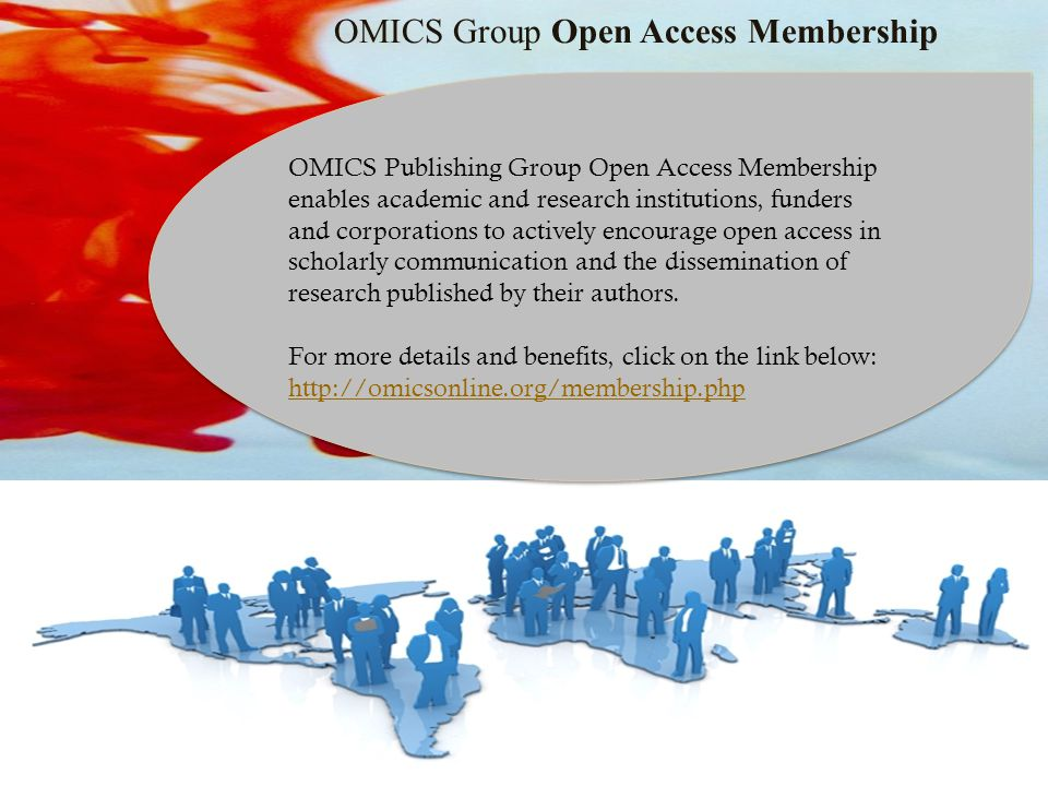 OMICS Group Open Access Membership OMICS Publishing Group Open Access Membership enables academic and research institutions, funders and corporations