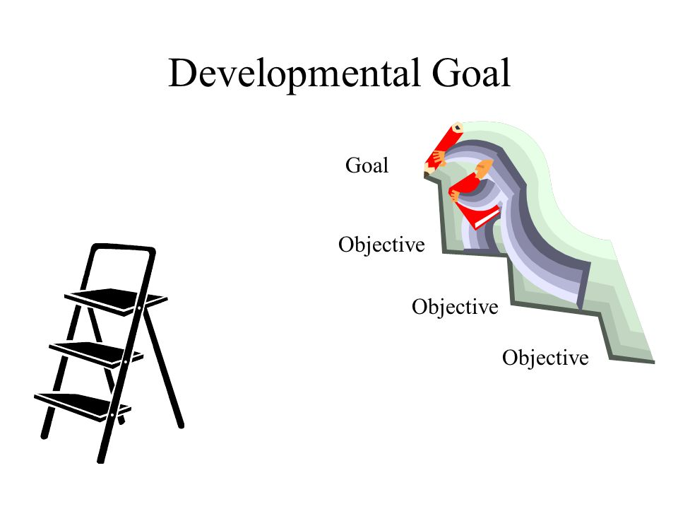 Developmental Goal Goal Objective