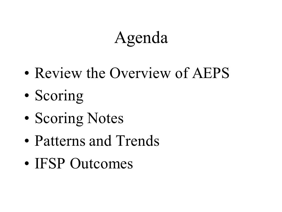 Scoring Options for Developmental Goals PG 195 Vol 2 Level 2 Social Strand A Goal 2 200112 201212 202212 202210 0 2 2 2