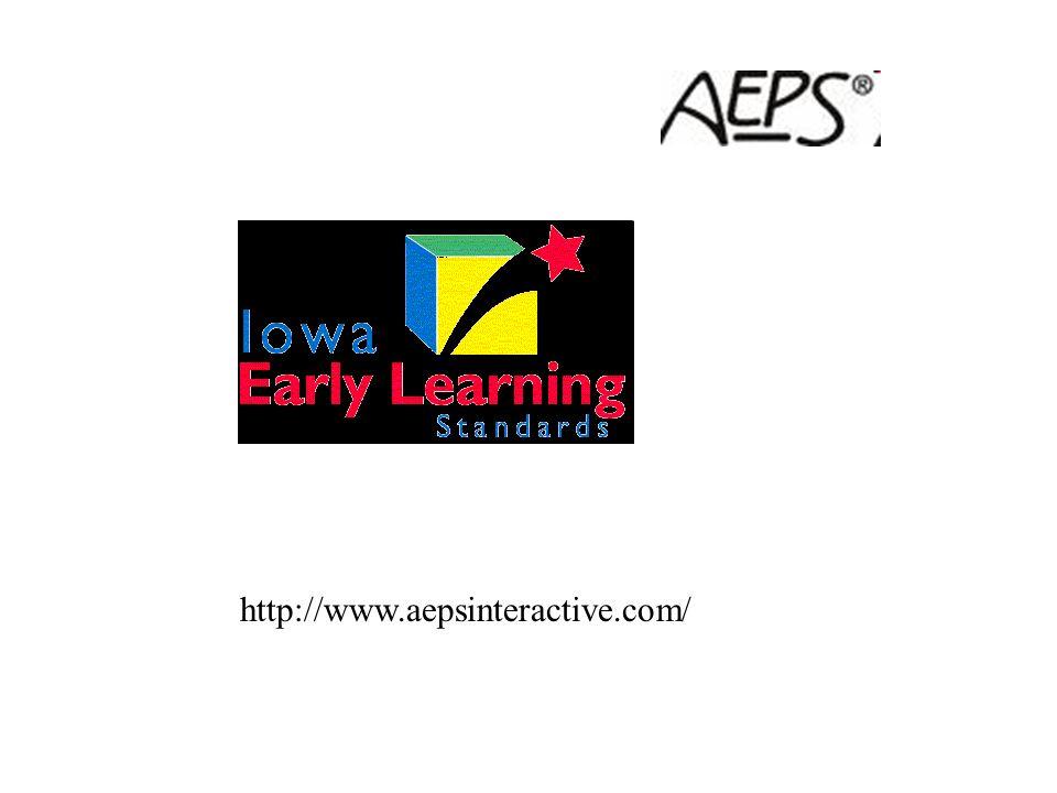AEPS Alignment to ECO http://www.fpg.unc.edu/~eco/pages/crosswalks.cfm