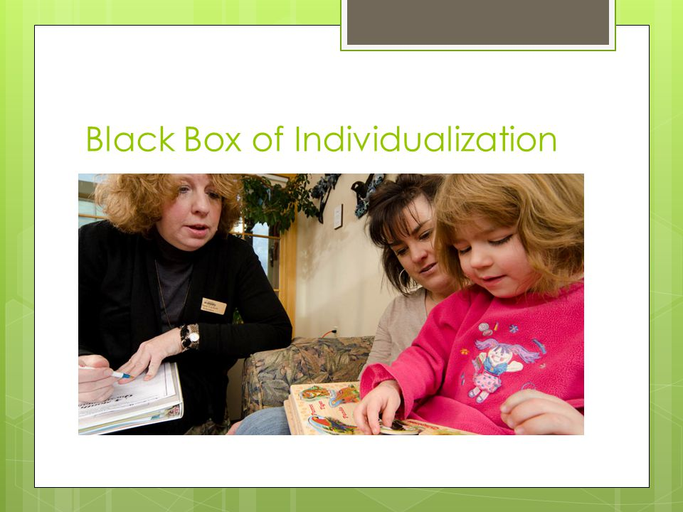 Black Box of Individualization