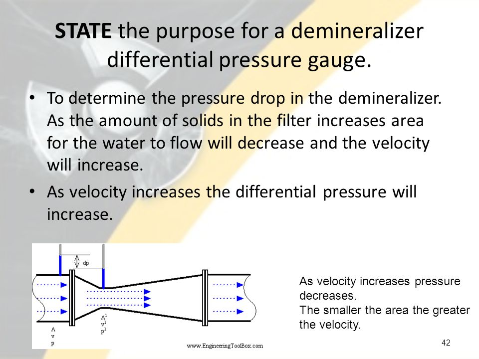 DESCRIBE the reason for demineralizer flow limitations.