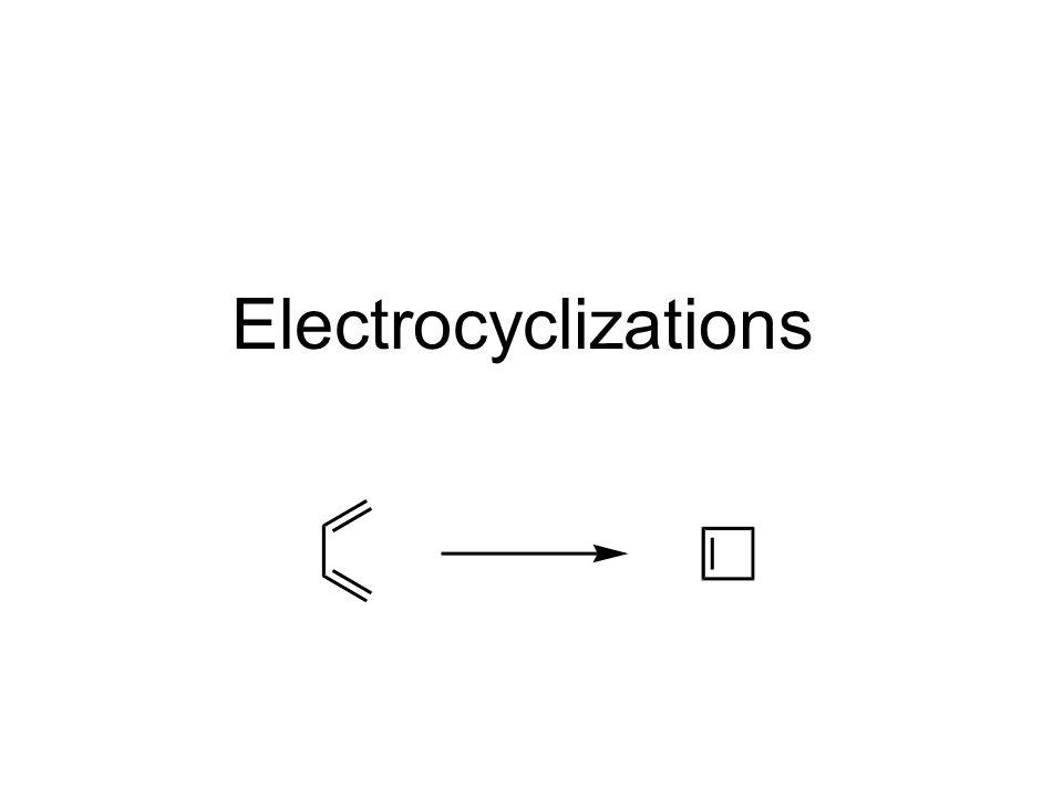 Electrocyclizations