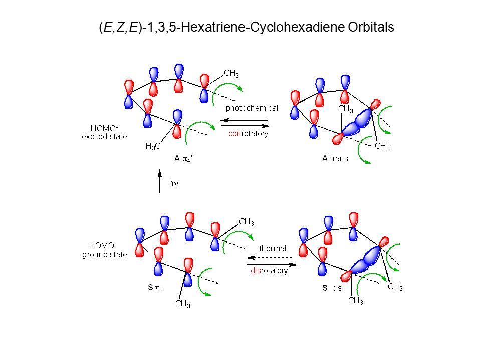 (E,Z,E)-Hexatriene-Cyclohexadiene Orbitals (E,Z,E)-1,3,5-Hexatriene-Cyclohexadiene Orbitals