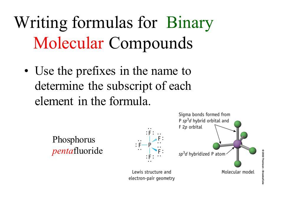 Name these compounds! PBr 3 CrBr 3 N 2 O Na 2 O Cl 4 PbI 4 P 2 O 3 Fe 2 O 3