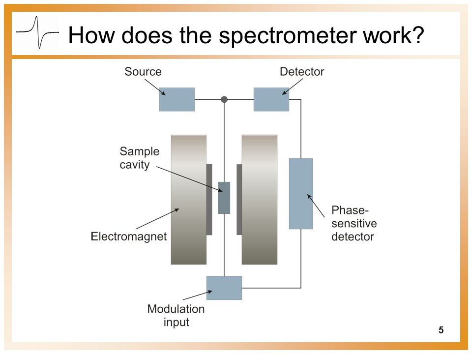 5 How does the spectrometer work?
