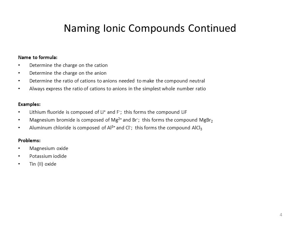 5 Polyatomic Ions Polyatomic Ions: are ions that contain two or more atoms (a group of atoms) with an overall charge.